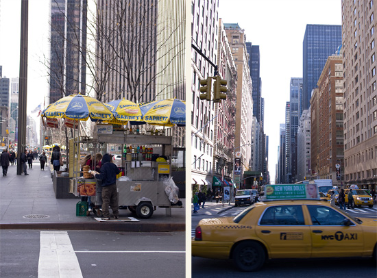 Kollage-Taxi-Hot-dog-Stand